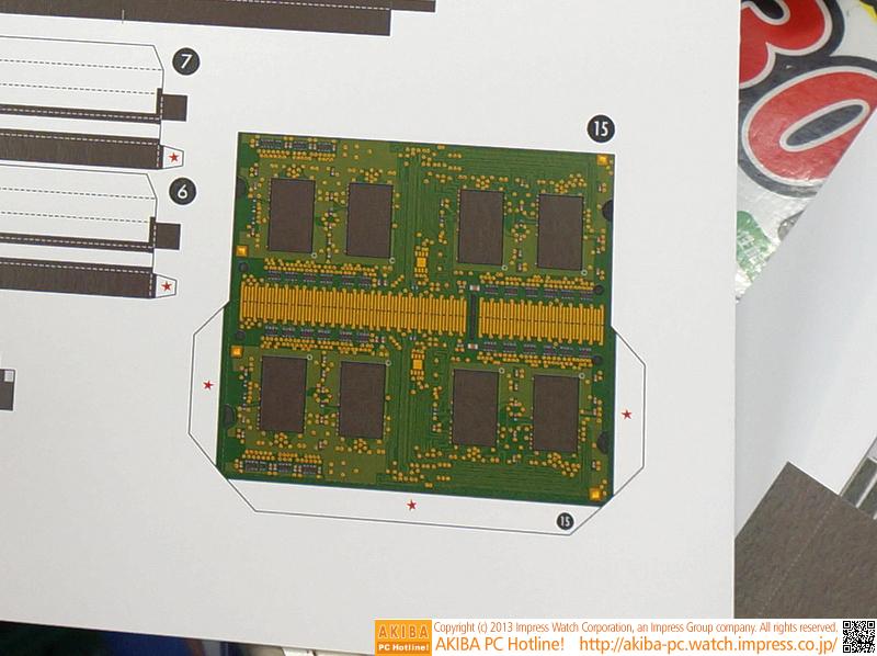SO-DIMMは両面実装。2枚ついているのでデュアルチャネルアクセスOK?