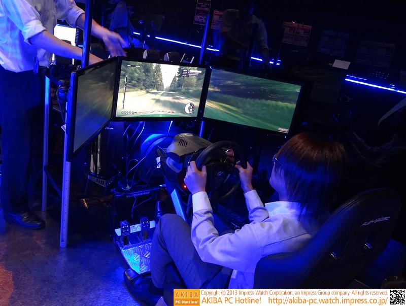 レーシングシートのゲーミングPC