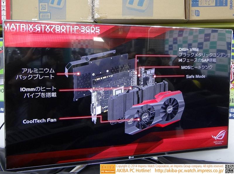 MATRIX-GTX780TI-P-3GD5の展開図