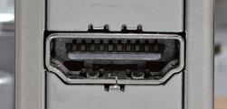 デジタル出力端子としてもっとも普及しているHDMI
