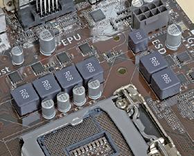 低価格モデルは、高性能CPUを搭載することや高負荷で長期使用されることを想定していないためVRMがシンプル