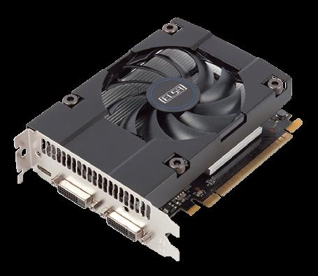 コアクロック(ブーストクロック):1.04GHz(非公開)●メモリクロック:5.4GHz●インターフェース:Mini HDMI×1、DVI-I×1、DVI-D×1