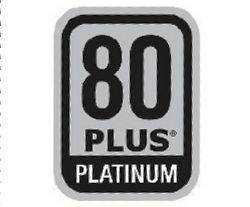 80PLUS Platinumのマーク