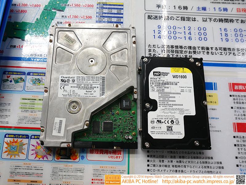 3.5インチSATA-HDDとの比較
