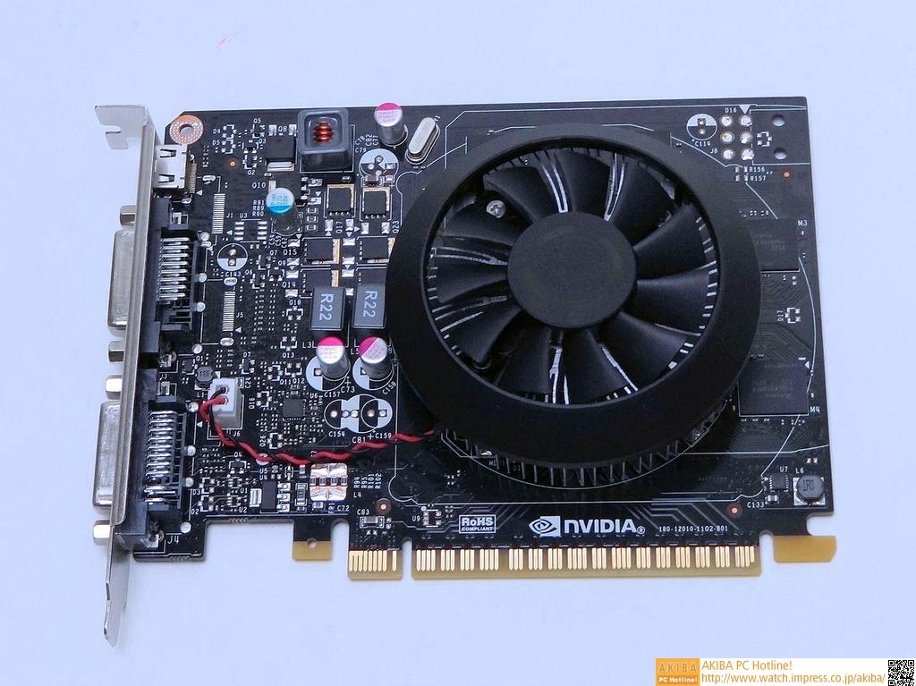 GeForce GTX 750 Tiのリファレンスカード