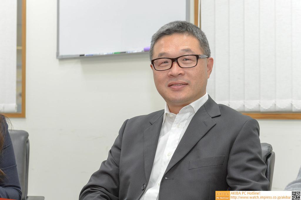Panram CEO Leo Hsieh氏