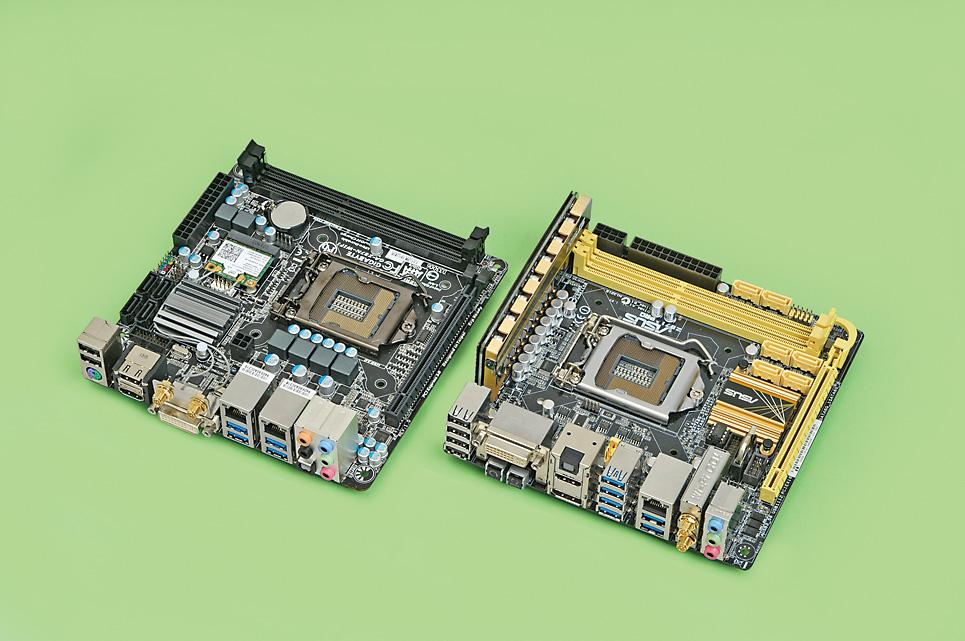 Mini-ITXマザーボードは配線効率を優先したレイアウトが大型CPUクーラーの搭載など、より柔軟な構成に対応できるものに変化しつつある