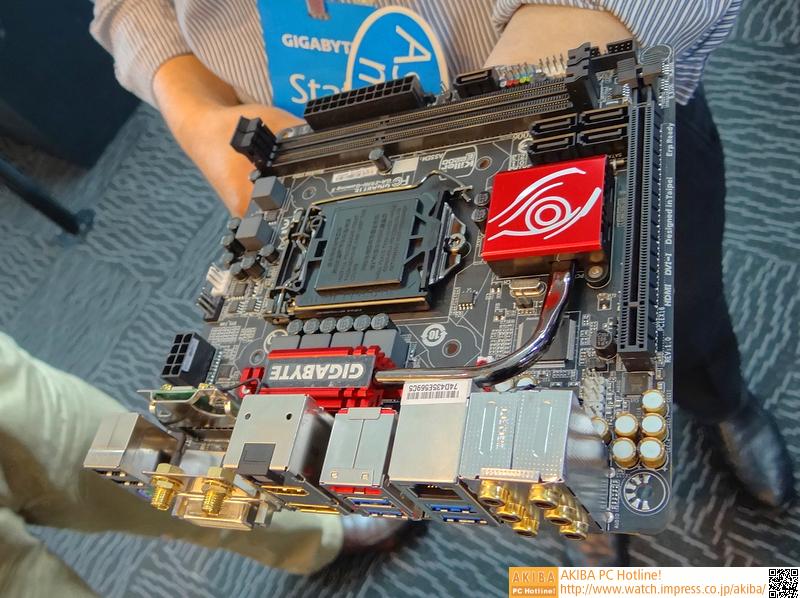Mini-ITXのゲーミングマザー「GA-Z97N-Gaming 5」も登場