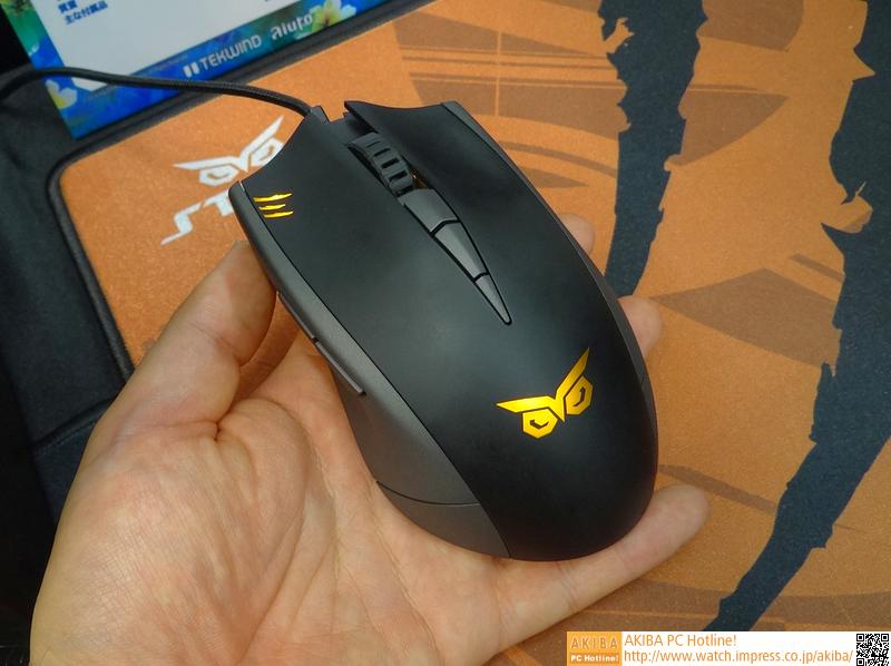 ゲーミングマウス「STRIX CLAW」