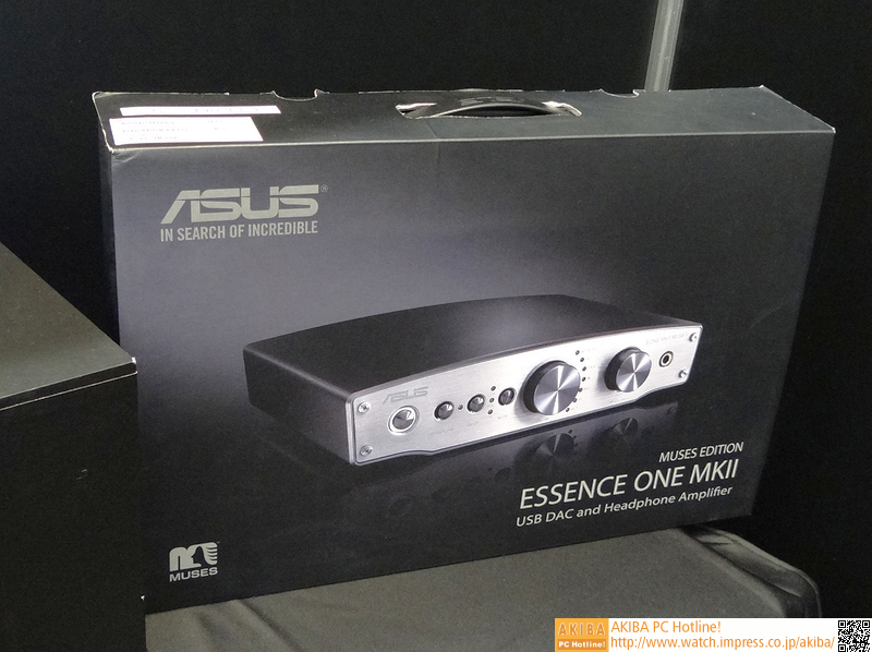 USB DAC「Essence One」の新モデル「MK II」も展示されていた。新たにDSDに対応している