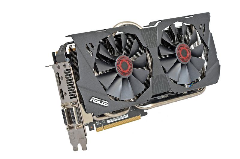 ビデオカードは、ASUSTeKのAMD Radeon R9 280搭載モデル「STRIX-R9280-OC-3GD5」を使用した。GPU温度が65℃を超えるまでファンが動作しない準ファンレス仕様で、3Dゲームプレイ時以外は無音で動作する。