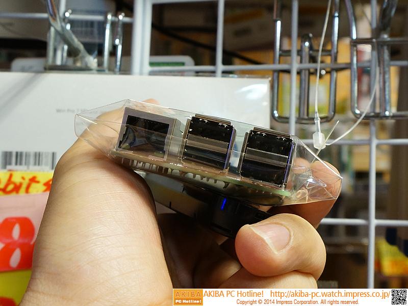 USBは4ポートに増加