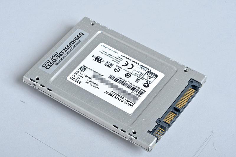 CFD販売 S6TNHG6Q<br>東芝コントローラに第2世代19nm NAND