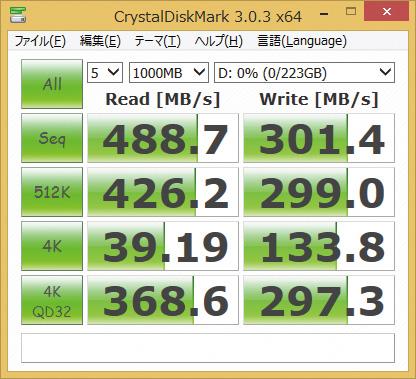 ※SSDSC2BP240G4R5を使用