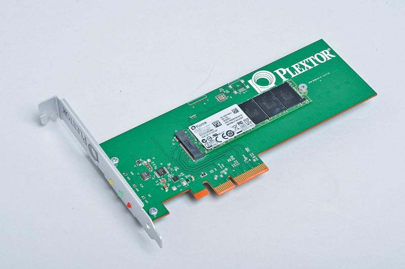 Philips & Lite-On Digital Solutions Plextor M6e PCI Express SSD<br>M.2非対応マザーでもPCI-E SSDが使える