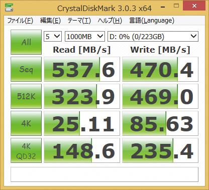 ※SP240GBSS3S55S25を使用