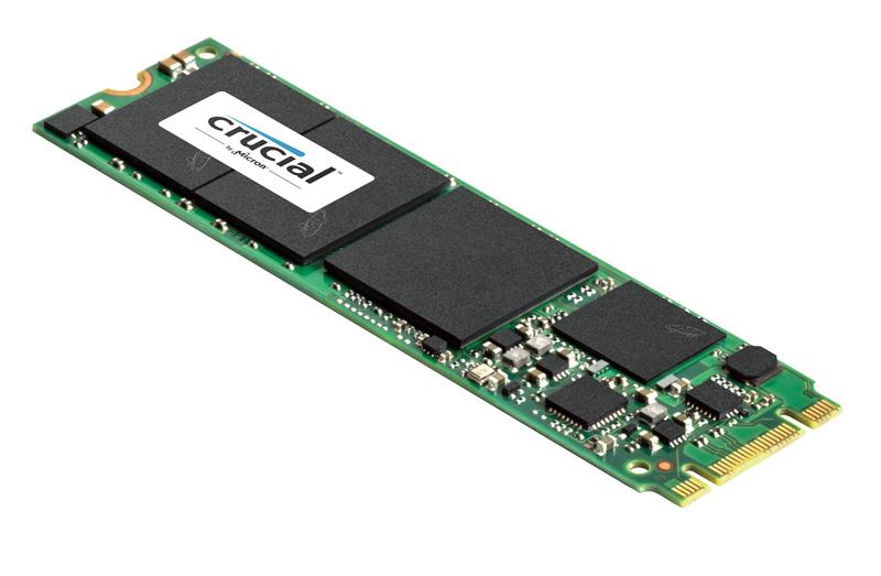 Micron Technology Crucial M550<br>2.5インチ版M550のM.2スロット対応版