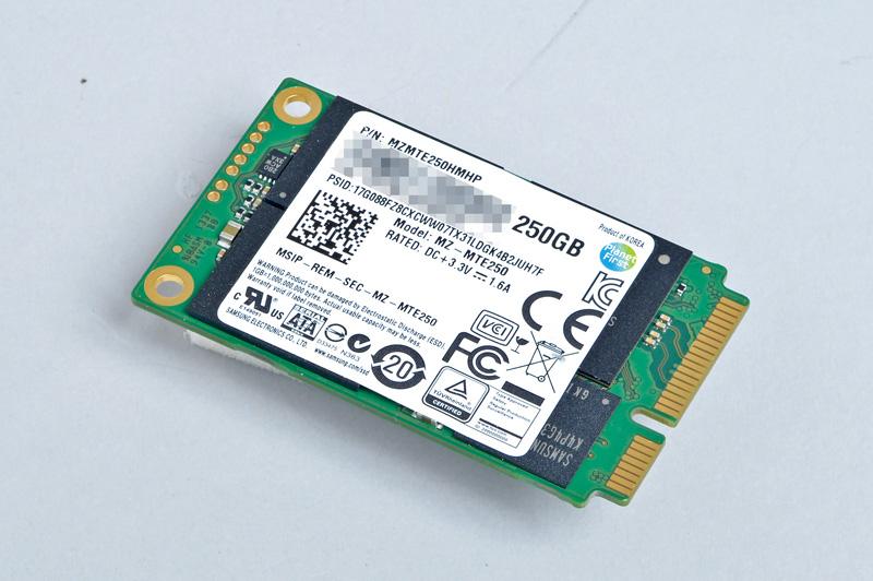 Samsung Electronics 840 EVO<br>mSATA SSDでも1TBモデルを用意