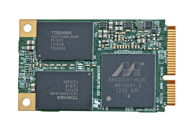 mSATA対応SSD