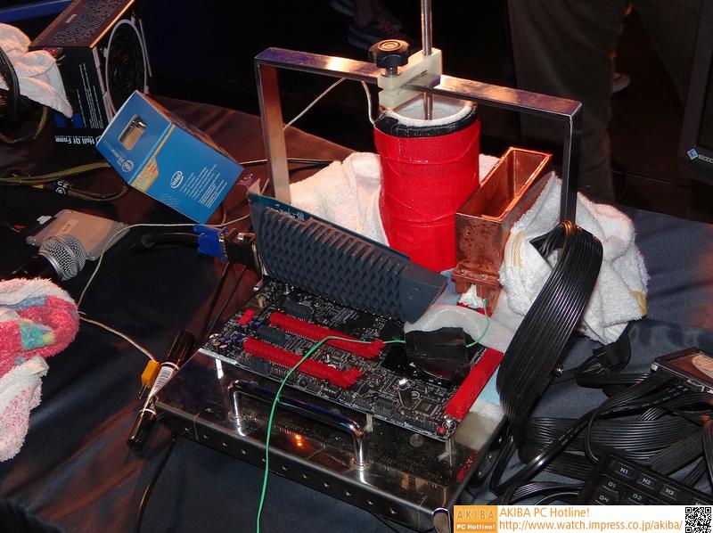 極冷マシンその1(CPU+メモリの極冷用)