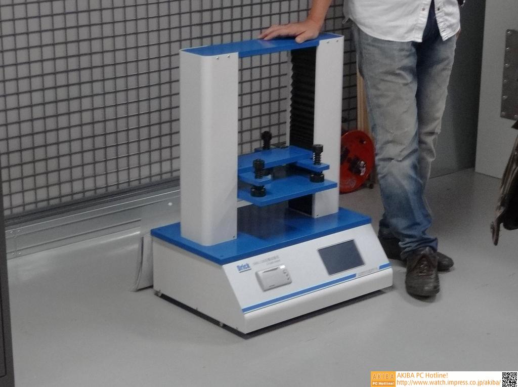 圧力試験器