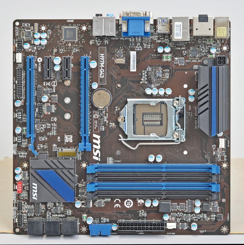 LGA1150/Intel H97/microATX