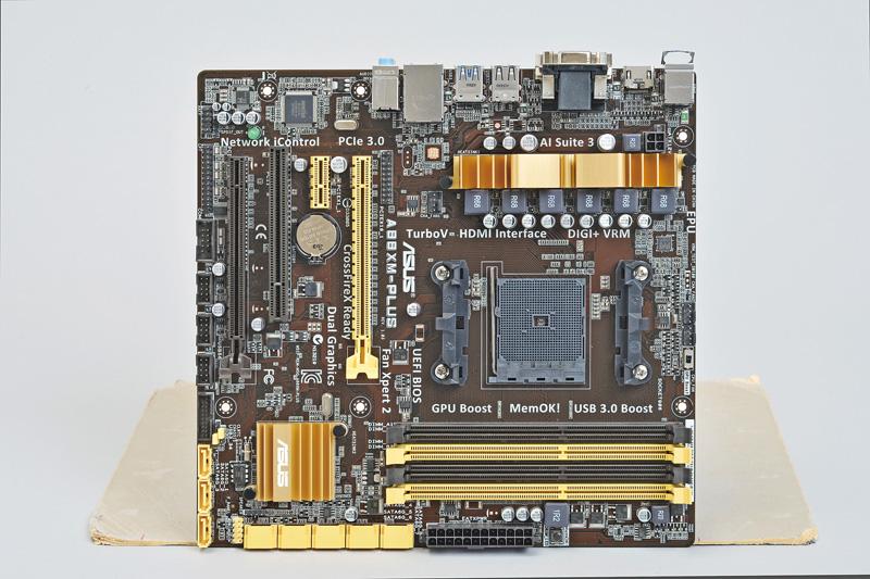 Socket FM2+/AMD A88X/microATX