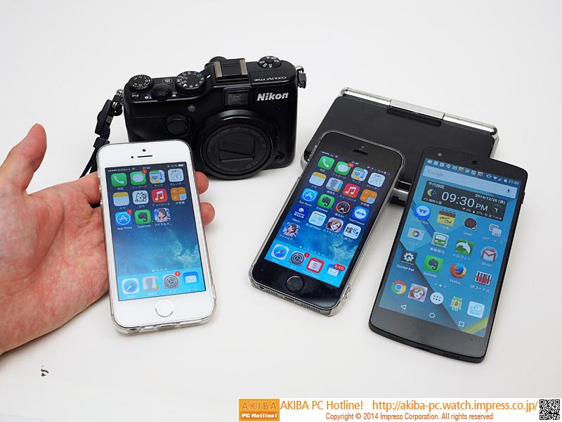 """【担 当】<br class="""""""">新製品ほか<br class="""""""">【使用機器】<br class="""""""">ニコン COOLPIX P7100 (デジカメ)<br class="""""""">シャープ SL-C1000(PDA)<br class="""""""">Apple iPhone 5s×2台(スマートフォン)<br class="""""""">Google Nexus 5(スマートフォン)"""