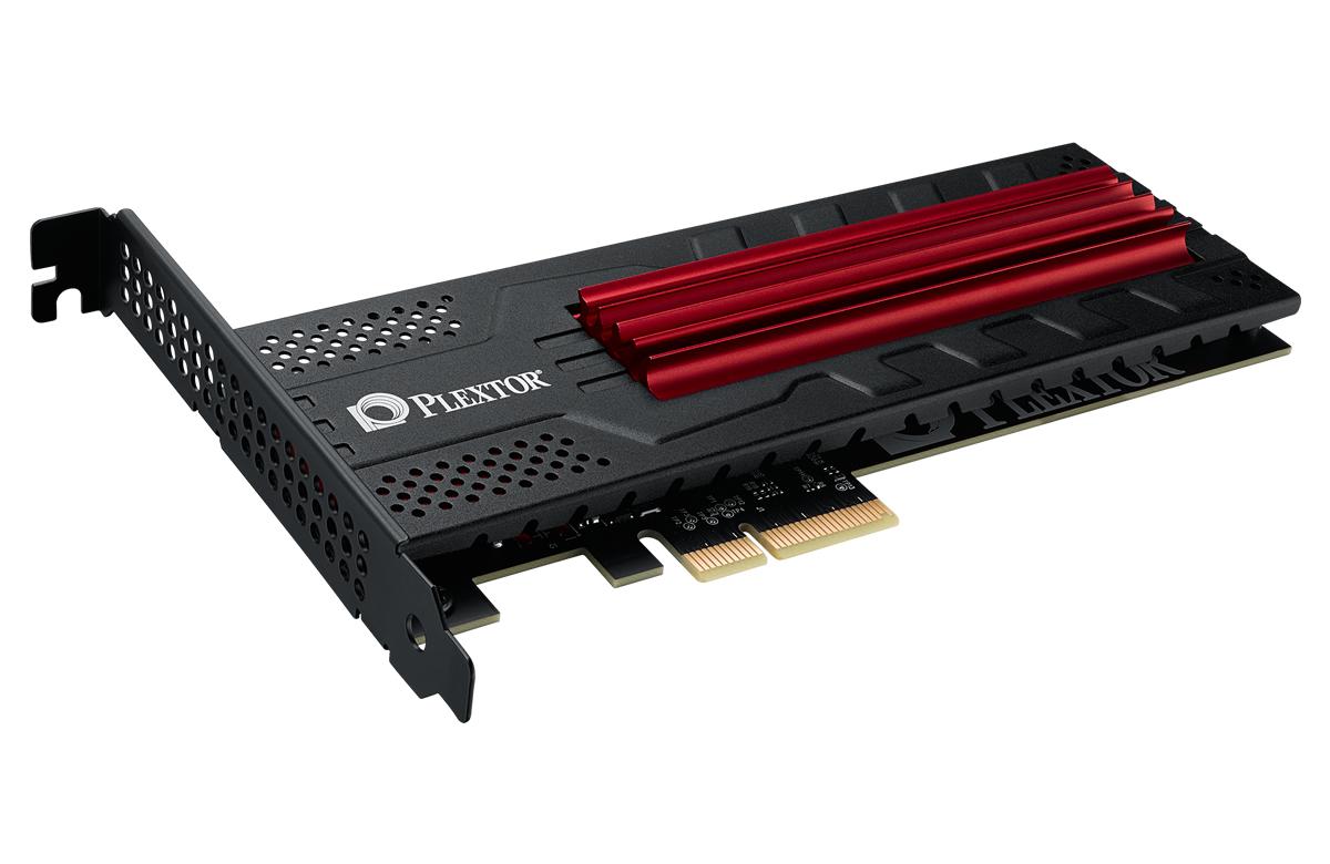 Plextorの拡張カード型SSD「M6e Black Edition」