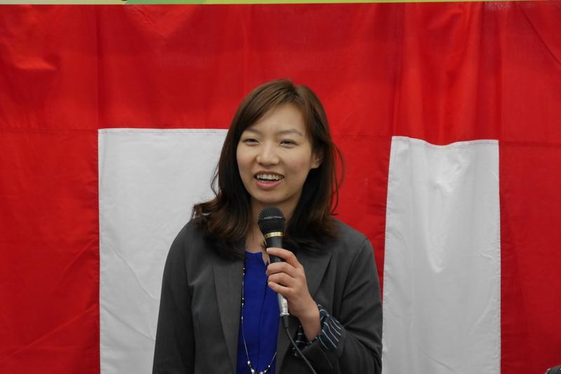 Windowsの最新情報を紹介する、日本マイクロソフトの徐夕瑩氏