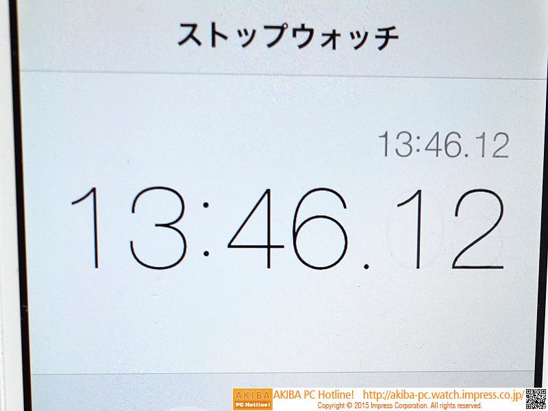 1枚目のインストールが完了した時間は約14分。