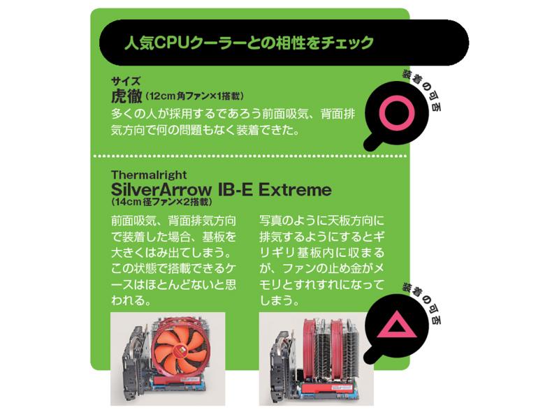 【スペック】対応CPU:Core i7/i5/i3、Pentium、Celeron、Xeon●メモリスロット:PC3-12800 DDR3 SDRAM×2(最大16GB)●ディスプレイ:HDMI×1、DVI-D×1、Dsub 15ピン×1●拡張スロット:PCI-E 3.0x16×1、PCI-E Mini Card(ハーフ、無線LAN/Bluetoothカード搭載済み)×1●主なインターフェース:SATA 3.0×5、USB 3.0×6、USB 2.0×4● LAN:1000BASE-T×1、IEEE802.11a/ac/b/g/n●そのほか:Bluetooth v4.0●実売価格:14,000円前後