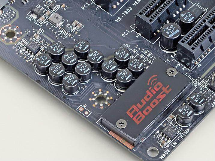 サウンド部は、オーディオグレードのコンデンサや高性能オペアンプの搭載など、高音質を実現するための工夫を満載する