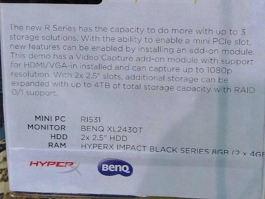 R531はCore i3-5010U搭載で米国価格が369ドル。Celeron 2961Y搭載の姉妹モデル「R323」は同209ドル