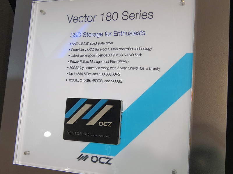 コンシューマ向けのフラグシップ「Vector 180」