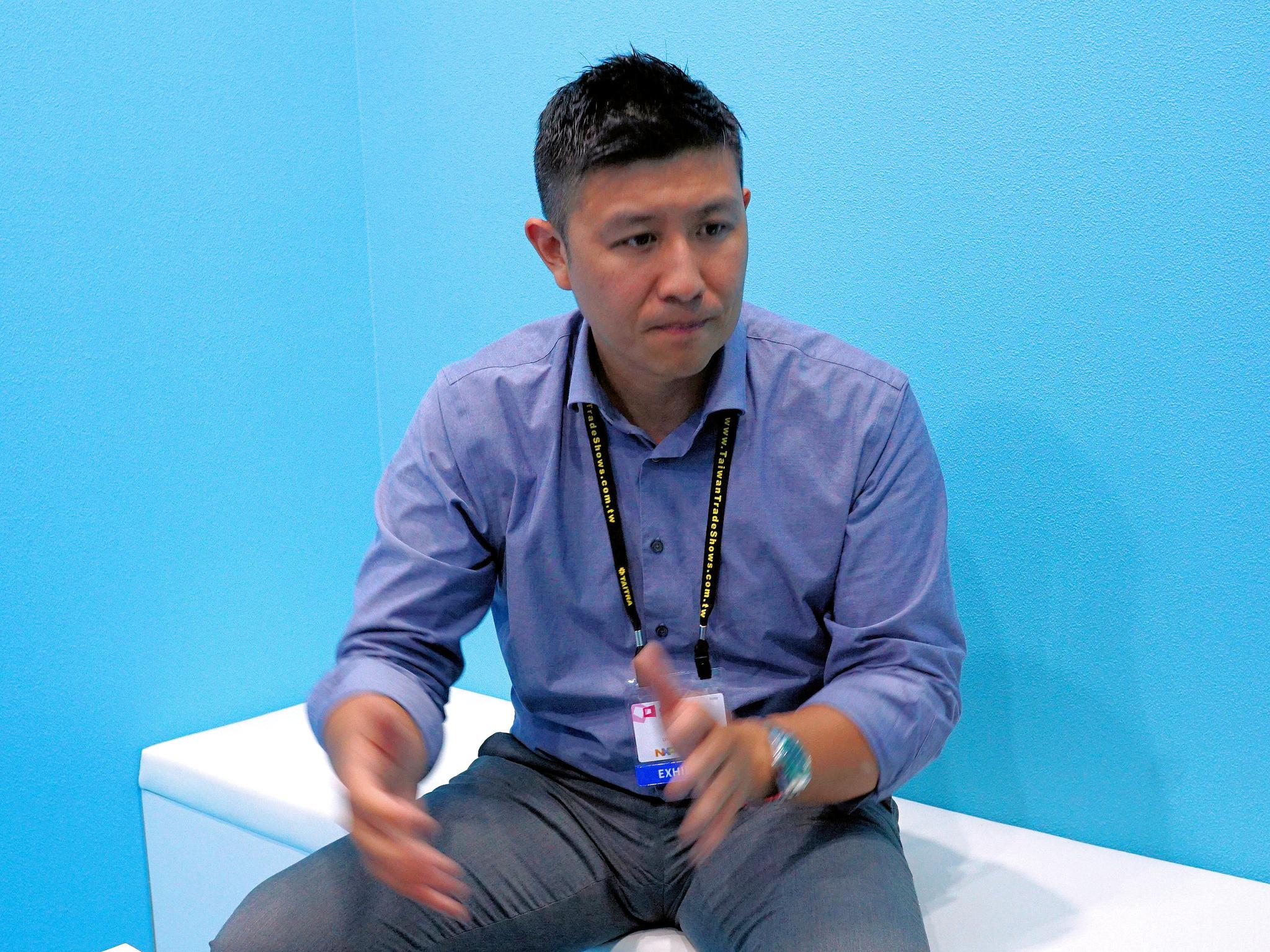 米OCZのマーケティング最高責任者(CMO)であるAlex Mei氏