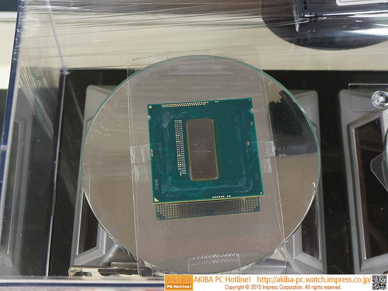 Core i7-4790Kも展示中