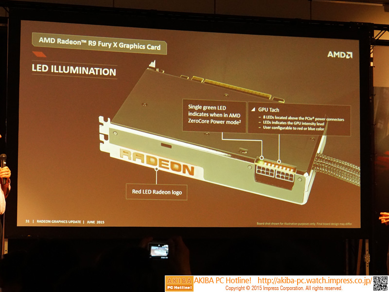 電源コネクタ部分のLEDは負荷に合わせて光るそう