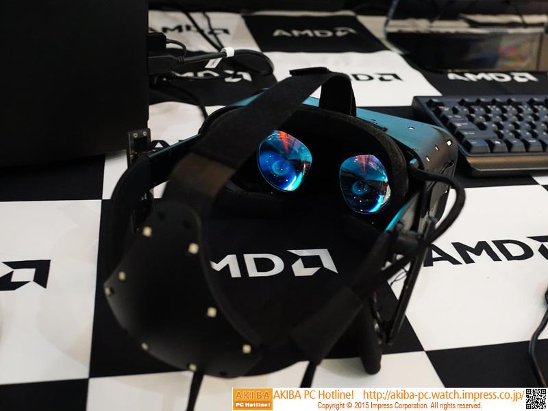 Oculus Riftの本体