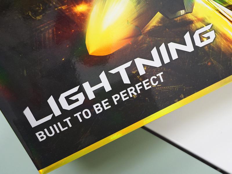 「LIGHTNING」の設計思想は「BUILT TO BE PERFECT(常に完璧を求めて)」を理念としている