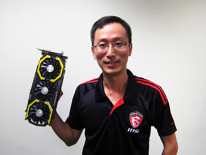 MSI PM DirectorのSam Yang氏