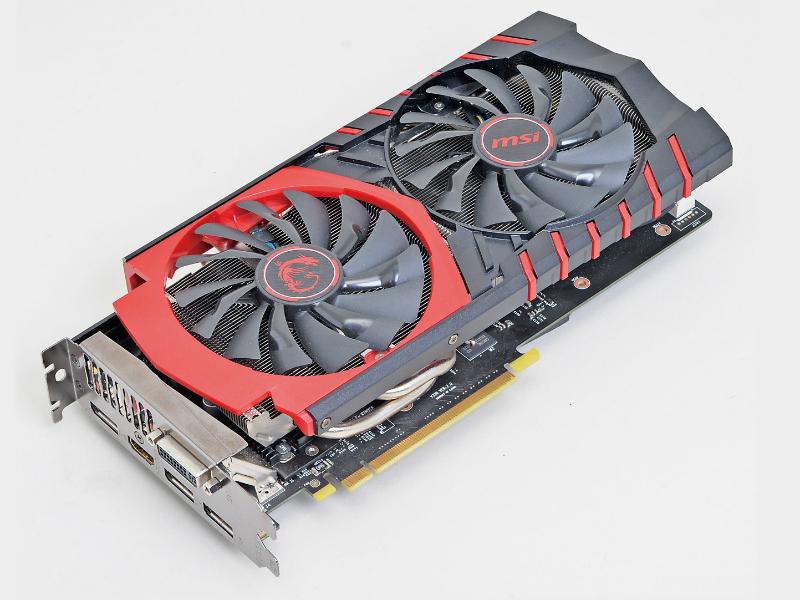 GeForce GTX 960を搭載したミドルレンジビデオカード。一定の温度に達するまでファンが回転しない仕様の上、独自の静音冷却クーラーユニット「Twin Frozr V」を搭載しており、高い静音性を実現している