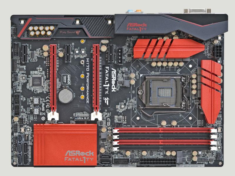 チップセットにH170を採用したATXマザー。H170マザーとしては高品質仕様の上、ゲーマー向け機能を満載。ハードウェア関連のユーティリティも充実している