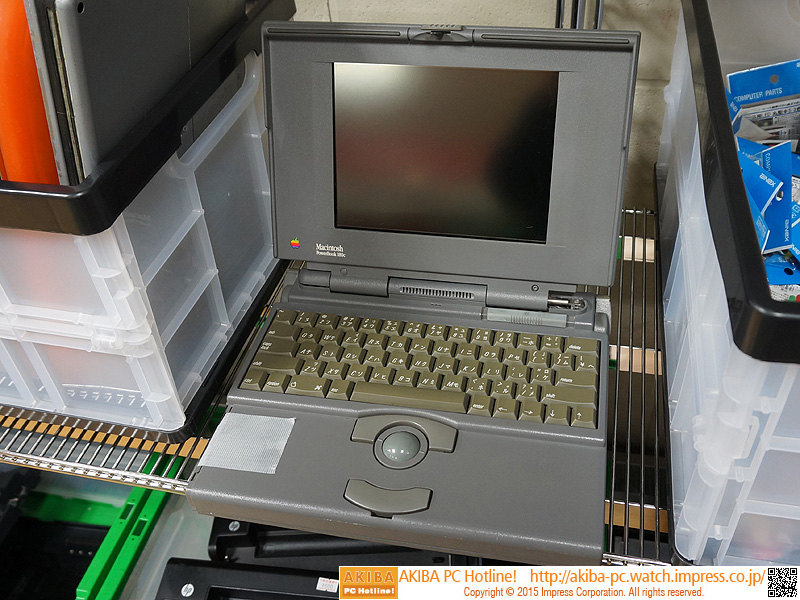 PowerBook 180c:980円