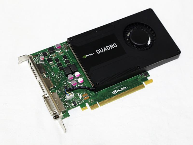 GPUにはQuadro K2000を採用。AdobeのAfter Effects対応GPUリストにも記載されている正式対応GPUだ。