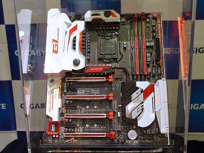 GIGABYTE Z170 Gaming G1。実売価格は7万円超!