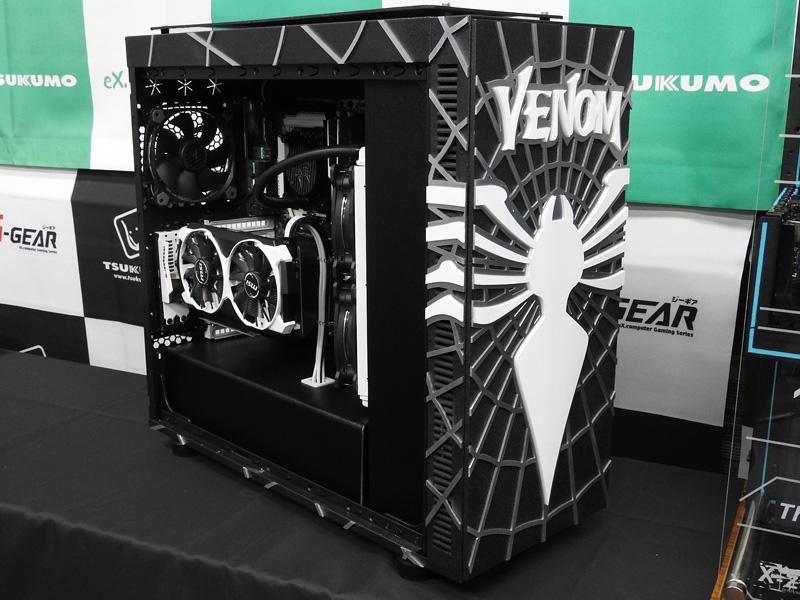 こちらがVenom Modの実物。Ronnie氏が精魂込めて完成させた貴重なものだ