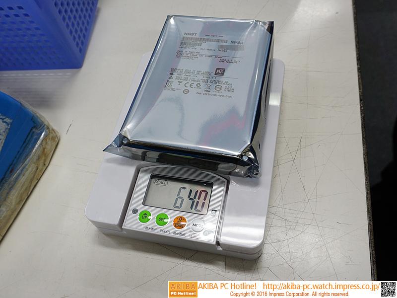 HUH728080ALE600の重量