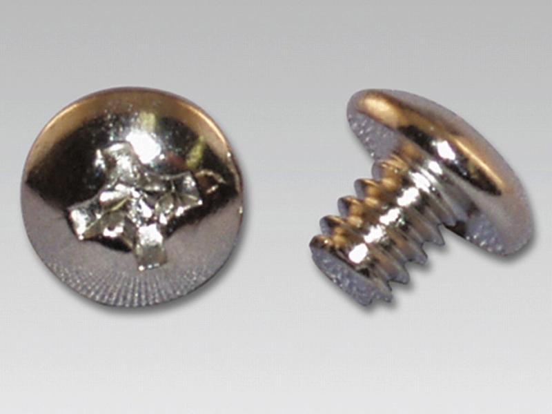 アイネックスの「インチネジ PB-024A」(写真左、実売価格:150円前後、10本入り)、「ミリネジ PB-027A」(写真右、実売価格:150円前後、10本入り)など、ネジは単体でも販売されている