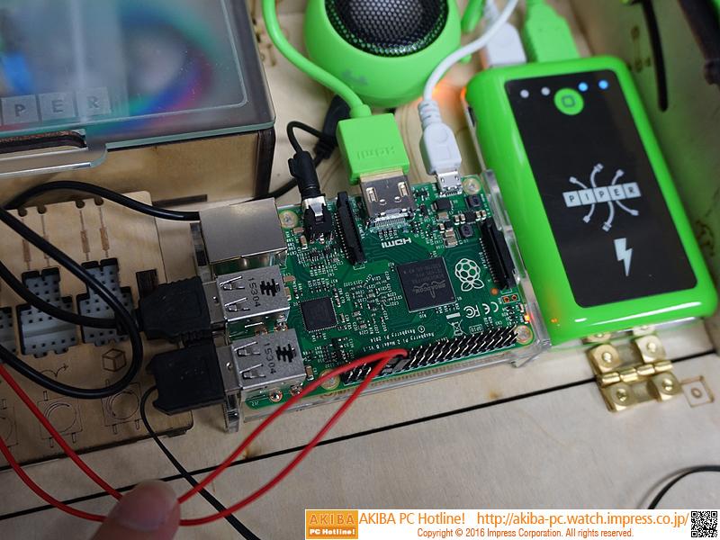 Raspberry Pi 2を搭載